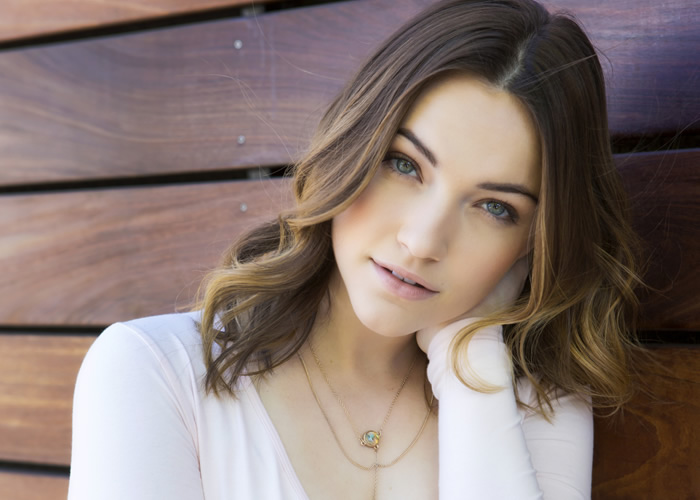 City Style and Living Magazine Violett Beane actress the flash portrait