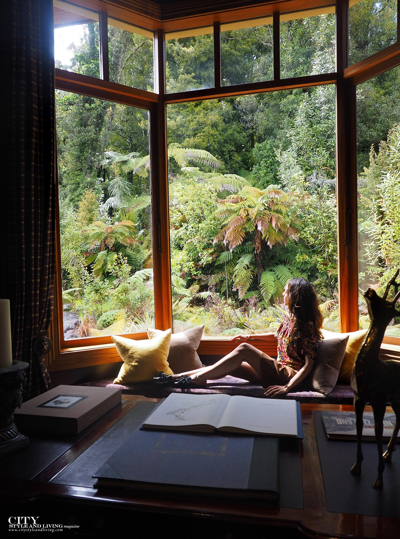 City style and living magazine The Editors Notebook style fashion blogger Shivana Maharaj Treetops Lodge and Estate Window