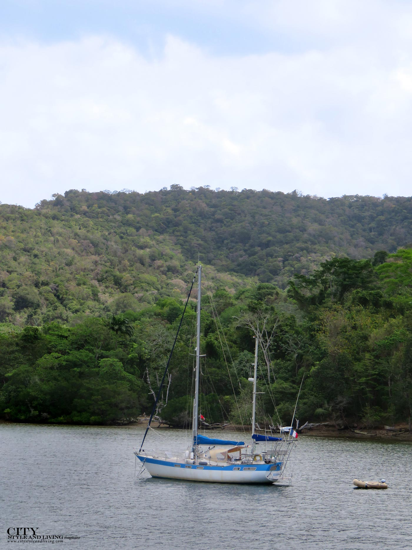 City Style and Living Magazine trinidad and tobago western isles boat tour landscape boat