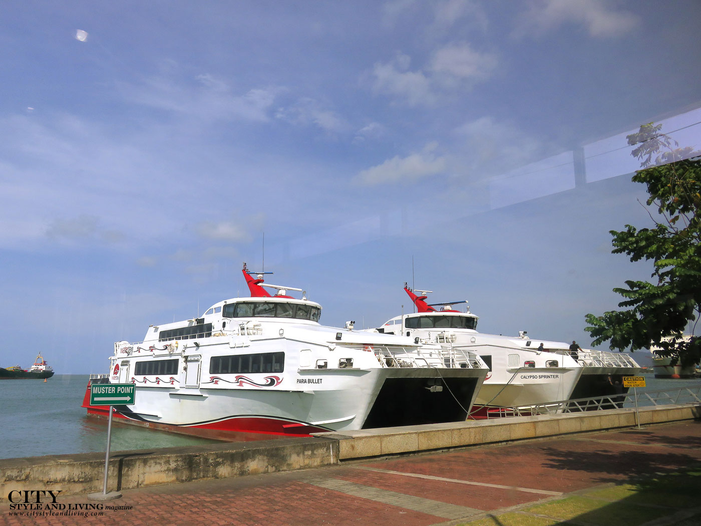 City Style and Living Magazine trinidad and tobago western isles boat tour water taxi