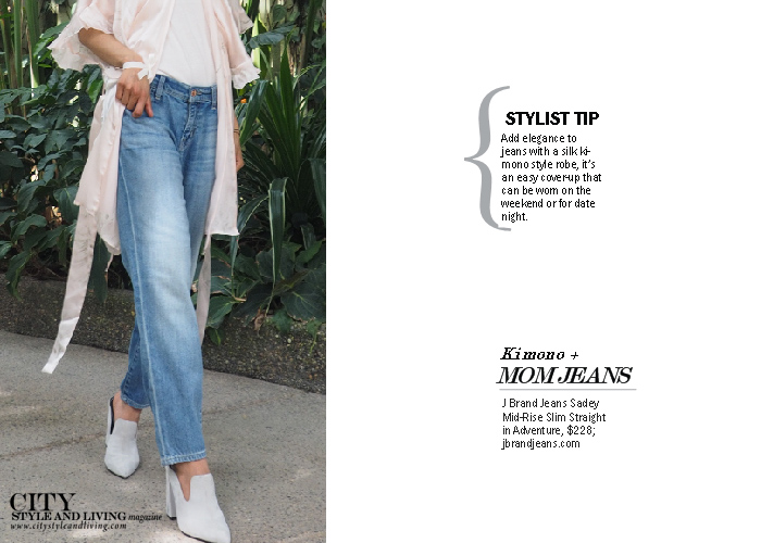 City Style and Living Jeans for Summer 2017 j brand