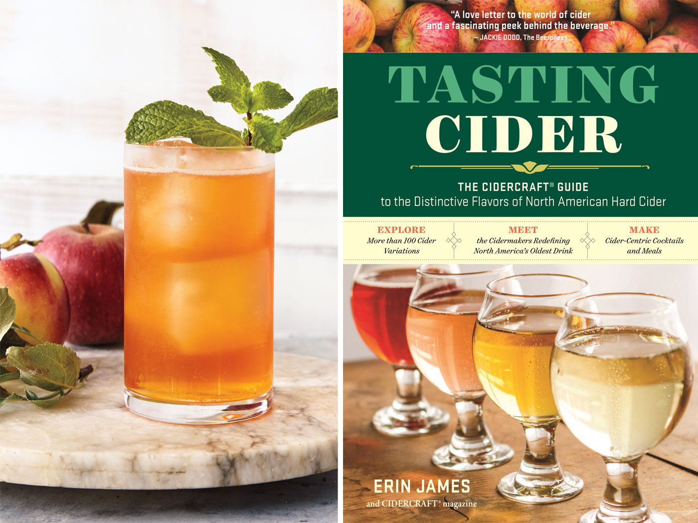 City Style and Living Magazine Cider Apple Cart tasting cider book