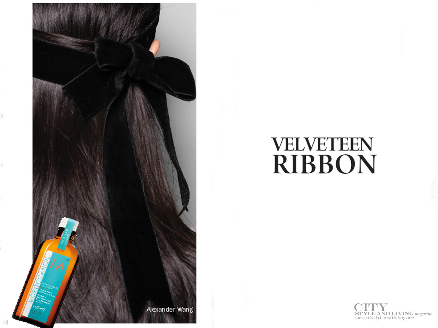 City Style and Living Magazine beauty trends for fall 2017 Velveteen ribbon
