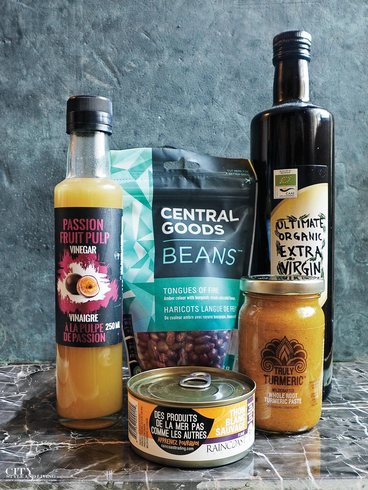 City Style and Living Magazine world pantry products for fall 2017