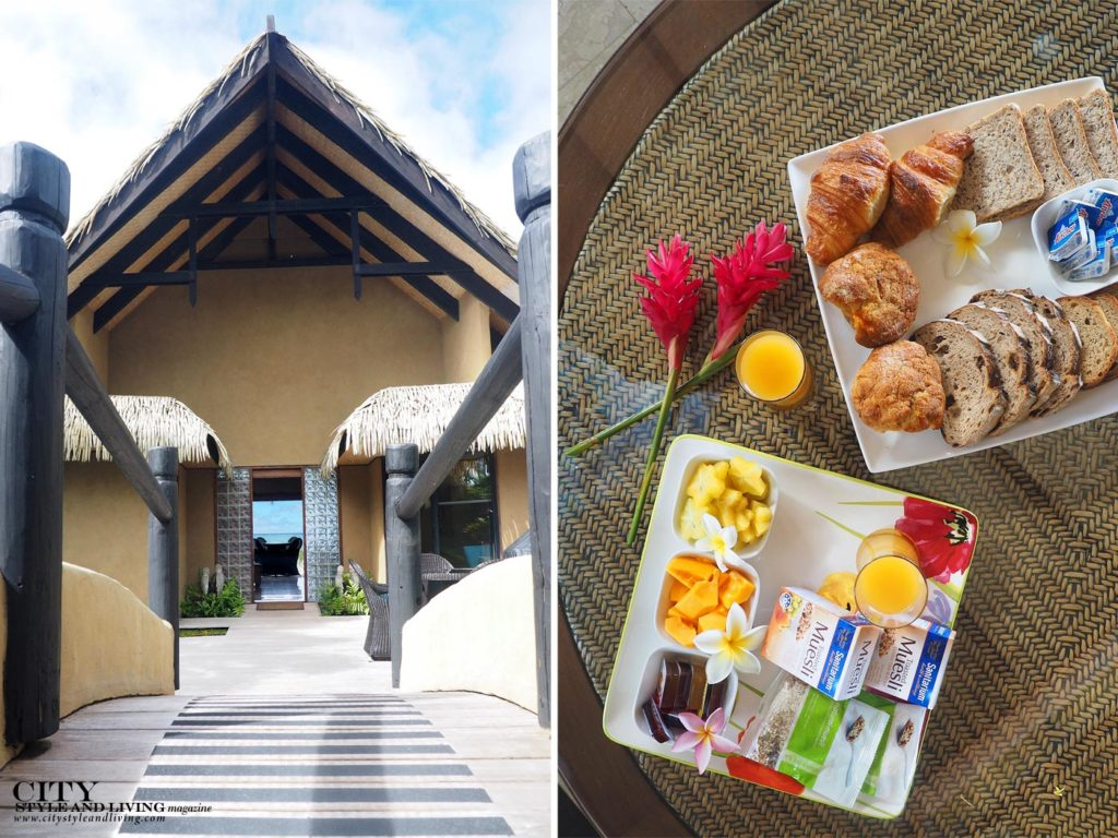 City Style and Living Magazine rarotonga cook islands luxury hotels rumours luxury villas and spa entrance and breakfast