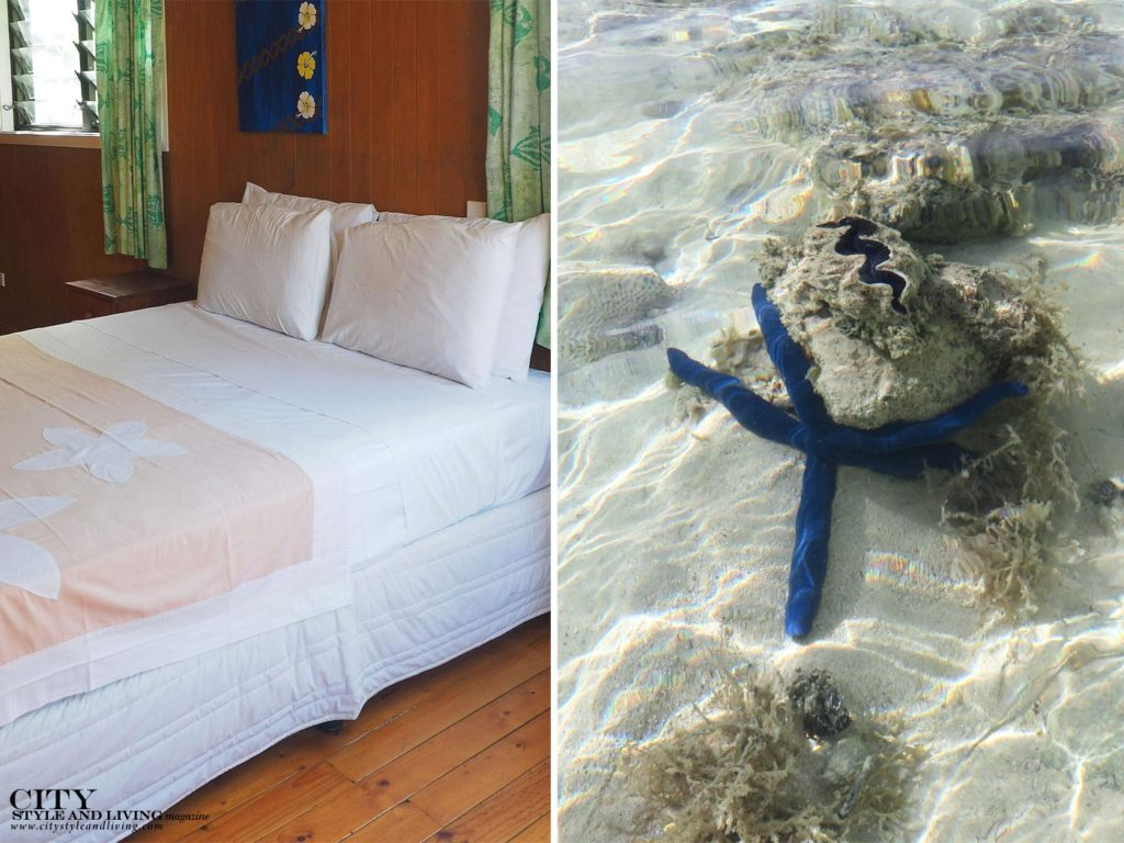 City Style and Living Magazine manea beach villas room and blue starfish
