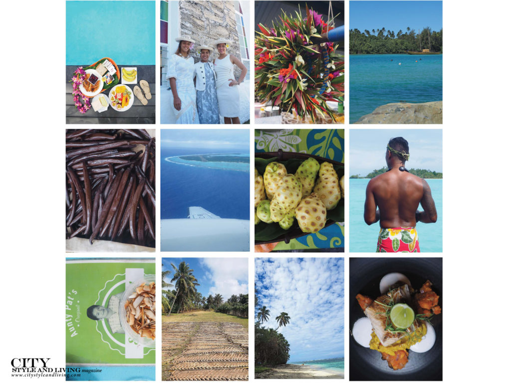 City Style and Living Magazine Rarotonga cook islands collage 2