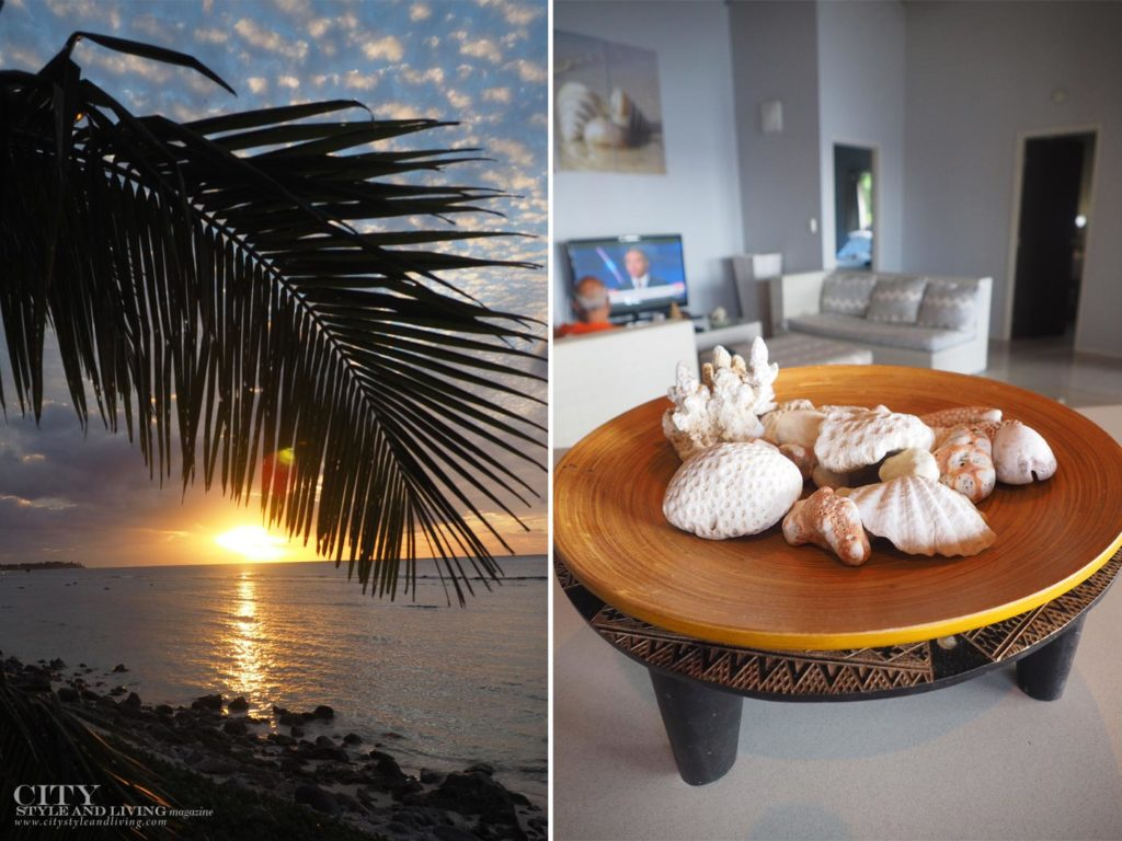City Style and Living Magazine ocean spray villas booking.com sunset and inside the villa