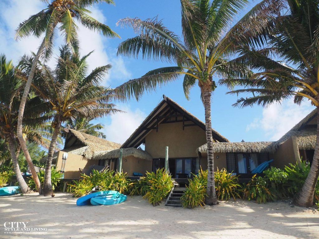 City Style and Living Magazine rarotonga cook islands luxury hotels rumours luxury villas and spa villa with kayaks on muri lagoon