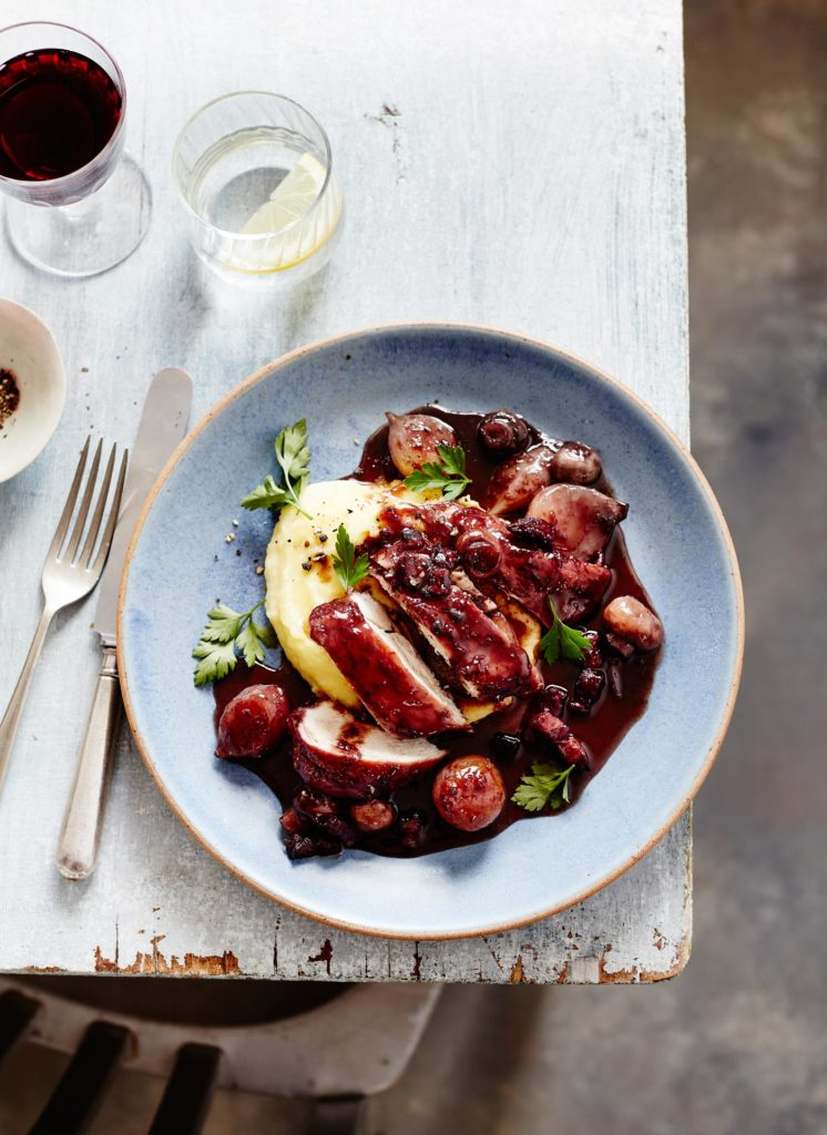 City Style and Living Magazine Wine Lovers Kitchen Coq Au Vin