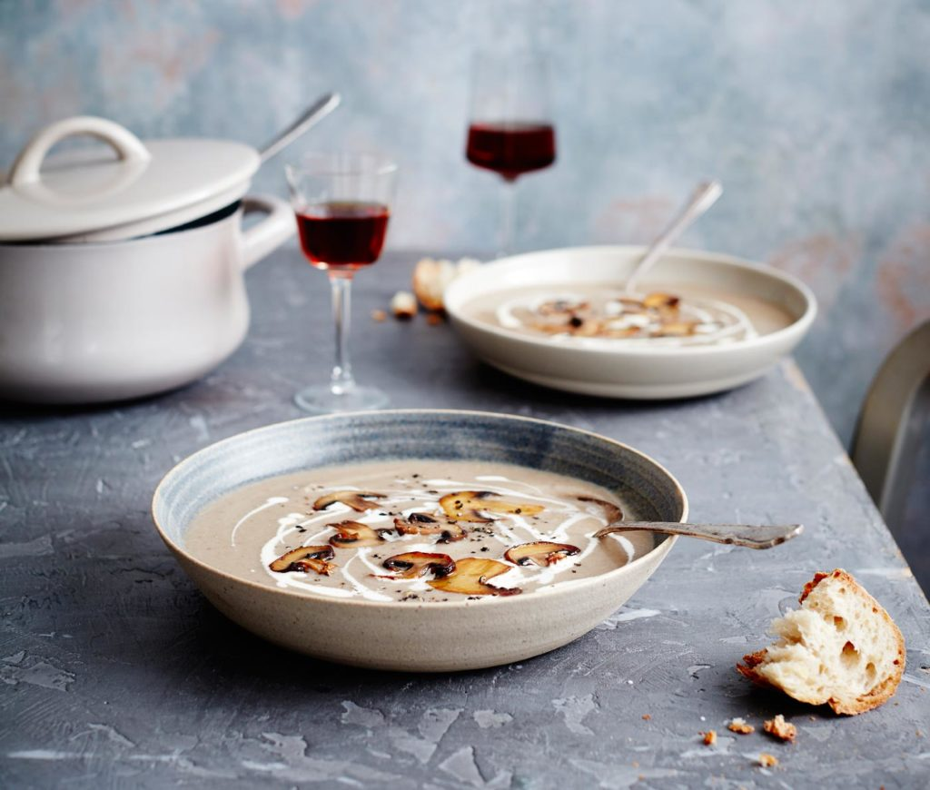 City Style and Living Magazine Wine Lovers Kitchen Mushroom-Soup Mowie Kay