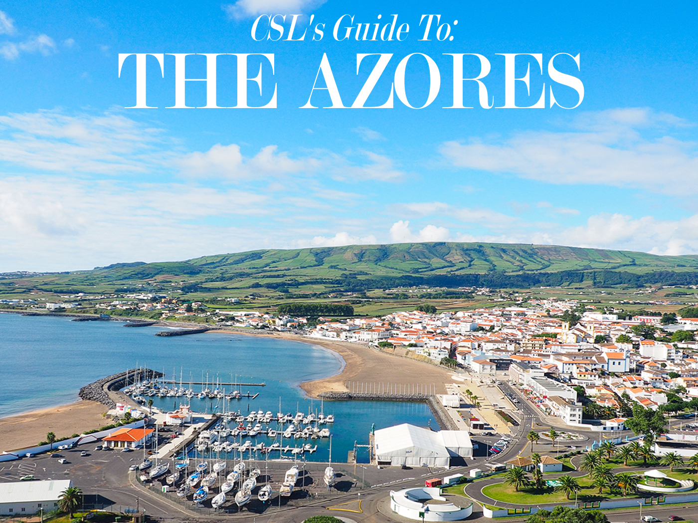 Getting Between Azores Islands