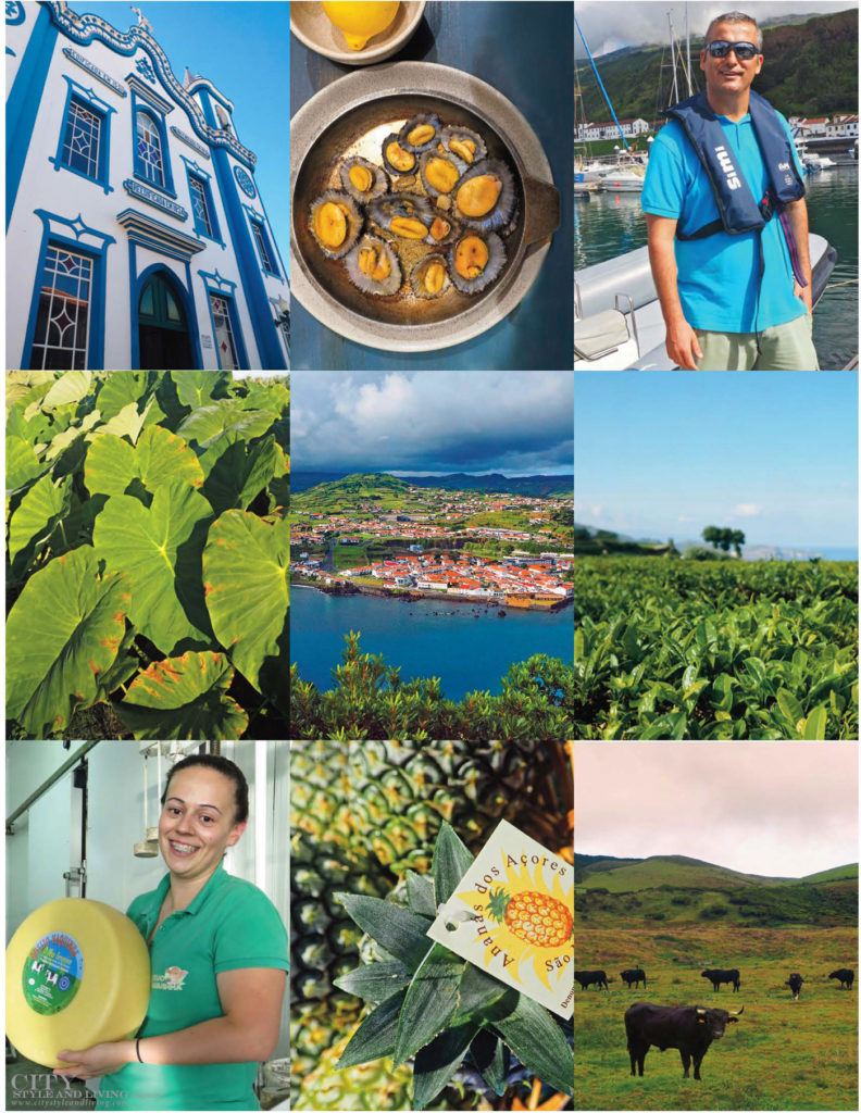 City Style and Living Magazine Travel The Azores Portugal Collage 1