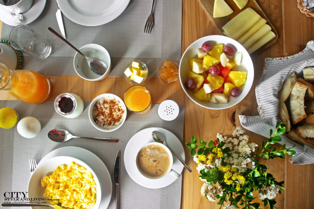 City Style and Living Magazine Travel The Azores Portugal Furnas Lake Villas Breakfast