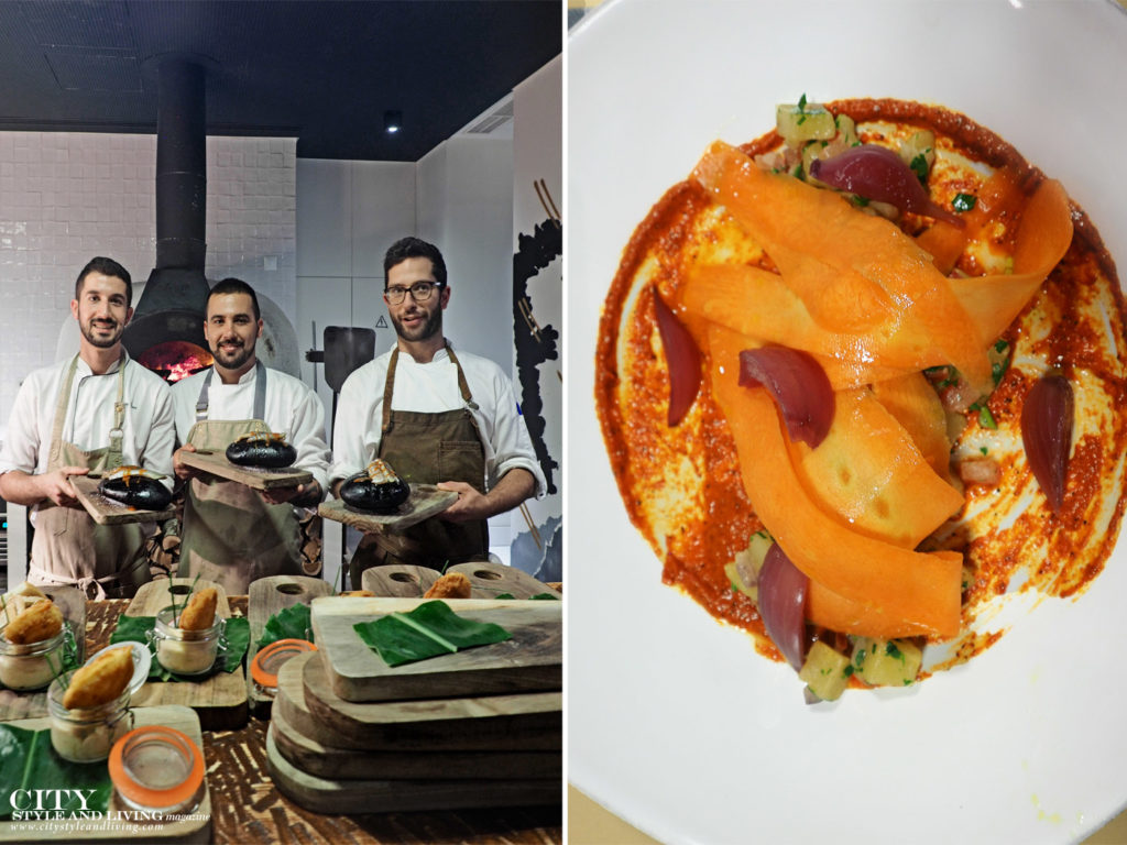 City Style and Living Magazine Travel The Azores Portugal Furnas boutique thermal hotel and spa sao miguel chefs and dinner carrot salad