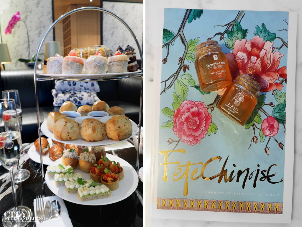City Style and Living Magazine Shangri La Toronto Afternoon Tea and local honey
