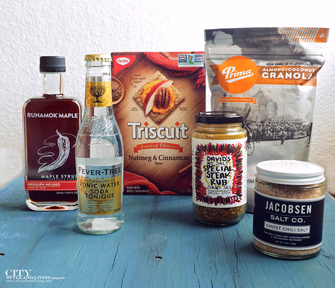 City Style and Living Magazine Products we love winter 2017 gourmet food products