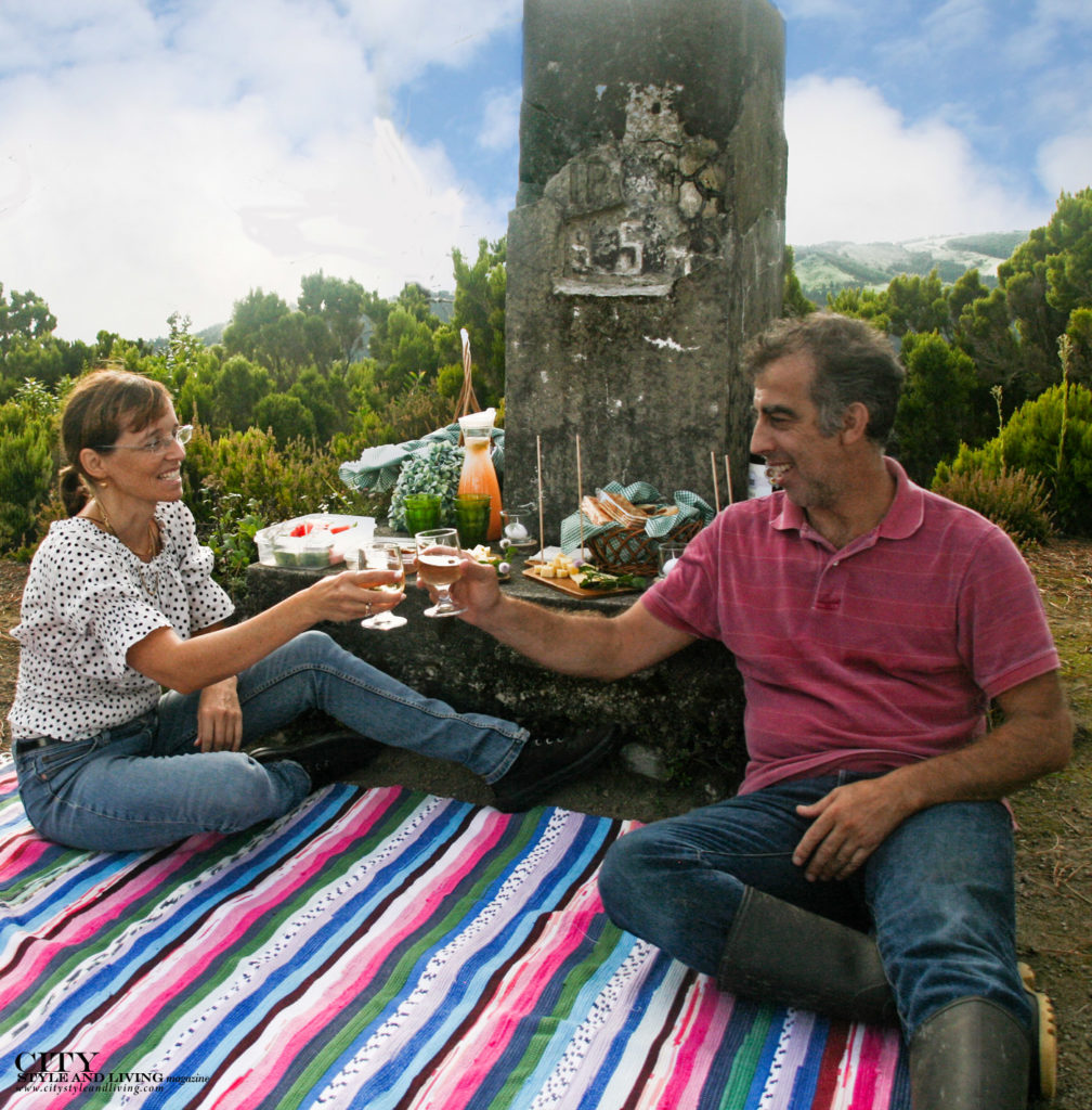 City Style and Living Magazine Travel The Azores Portugal Furnas Lake Villas Picnic with Owners