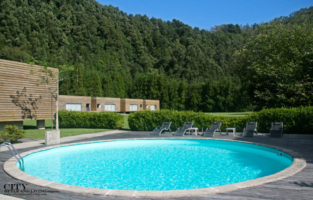 City Style and Living Magazine Travel The Azores Portugal Furnas Lake Villas Pool