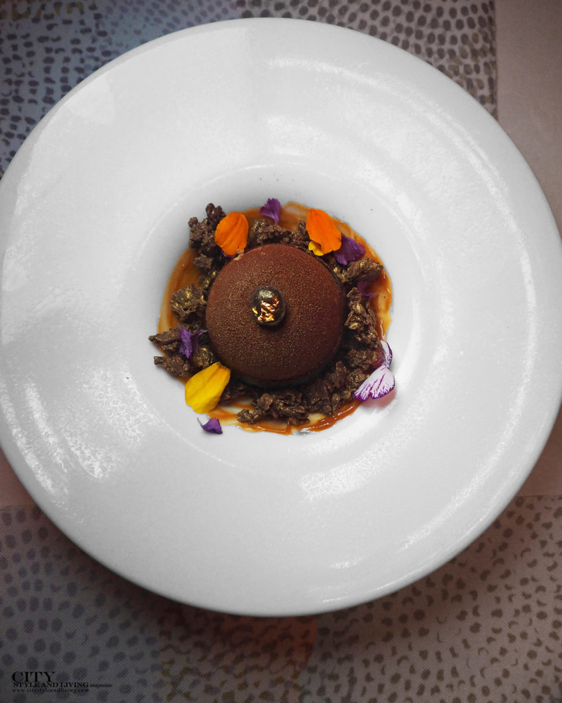 City Style and Living Magazine Shangri La Toronto chocolate dessert at bosk