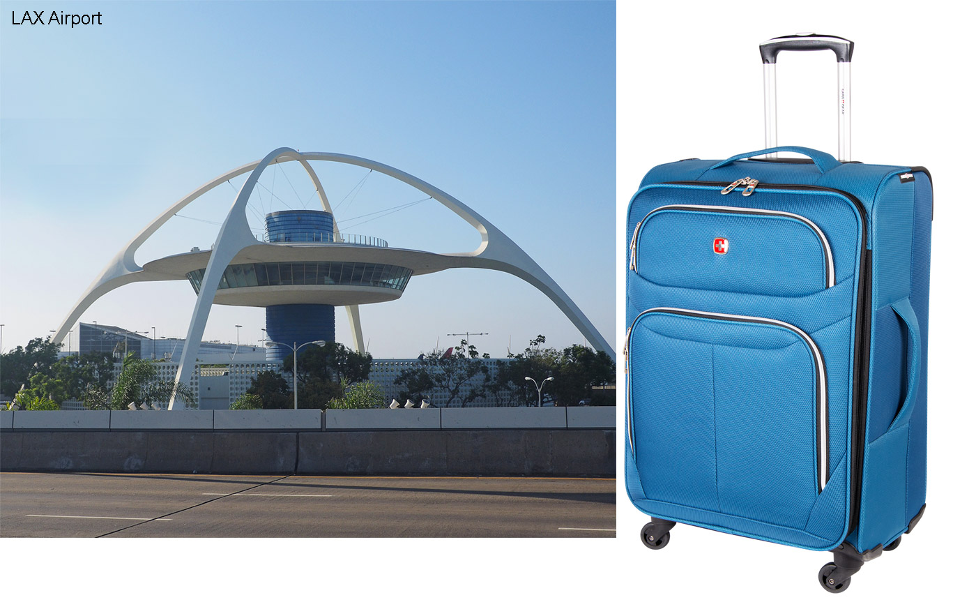 City Style and Living Magazine Holiday Group Swiss Gears uitcase