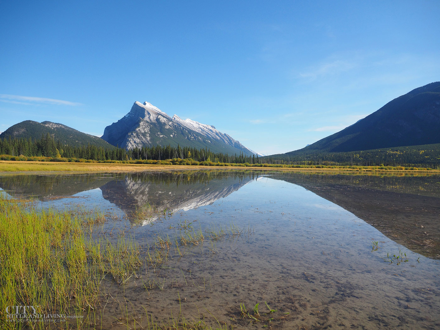 City Style and Living Magazine banff Travel Vermillion Lake