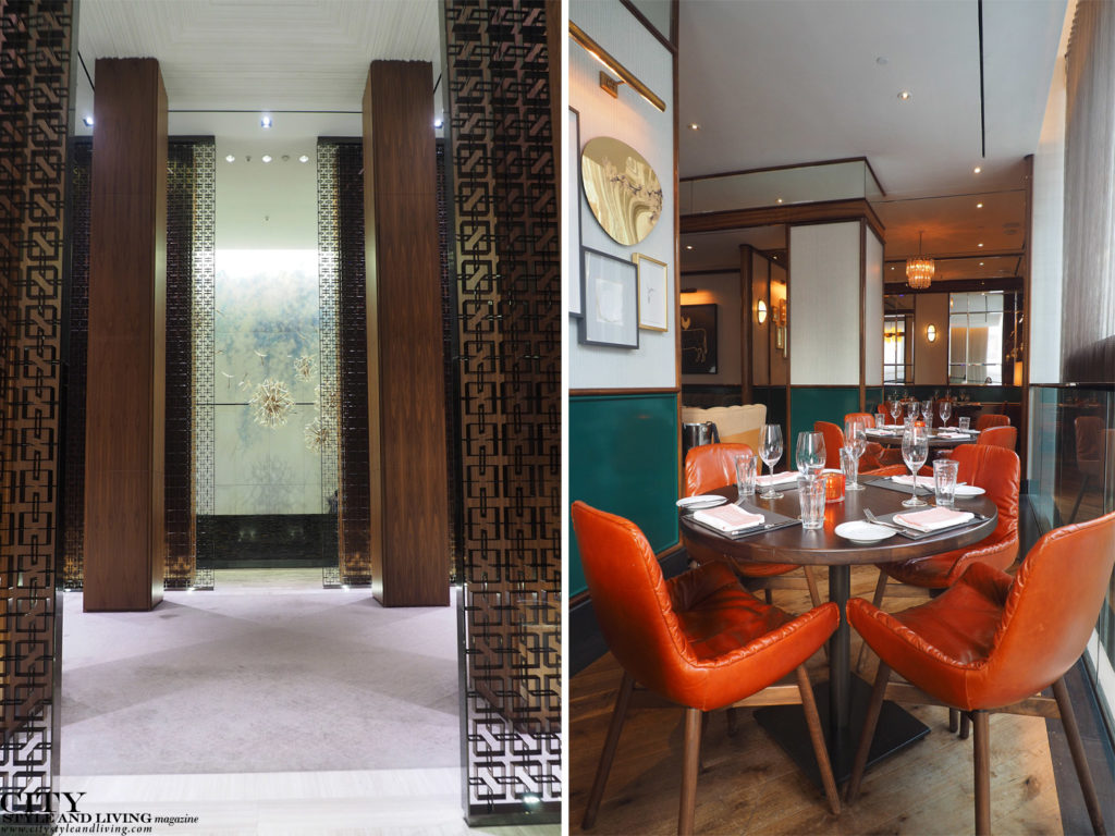 City Style and Living Magazine Travel Hotels The Four Seasons Toronto lobby and cafe boulud