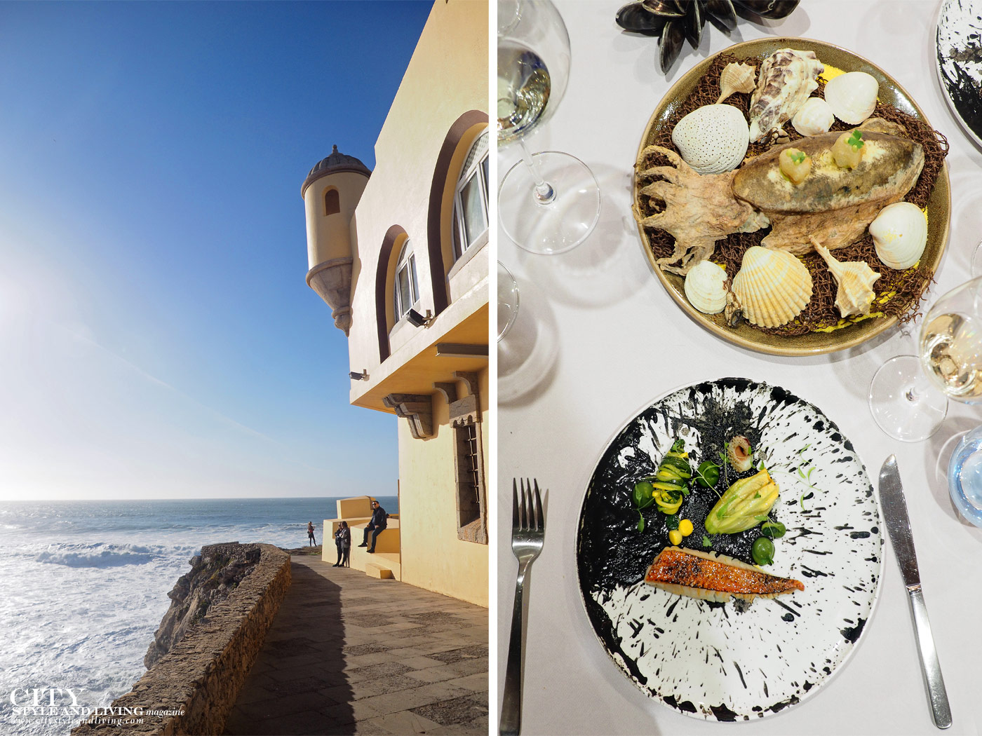 City Style and Living Magazine Travel Portugal Luxury hotels Cascais Fortaleza do guincho sea view and michelin restaurant
