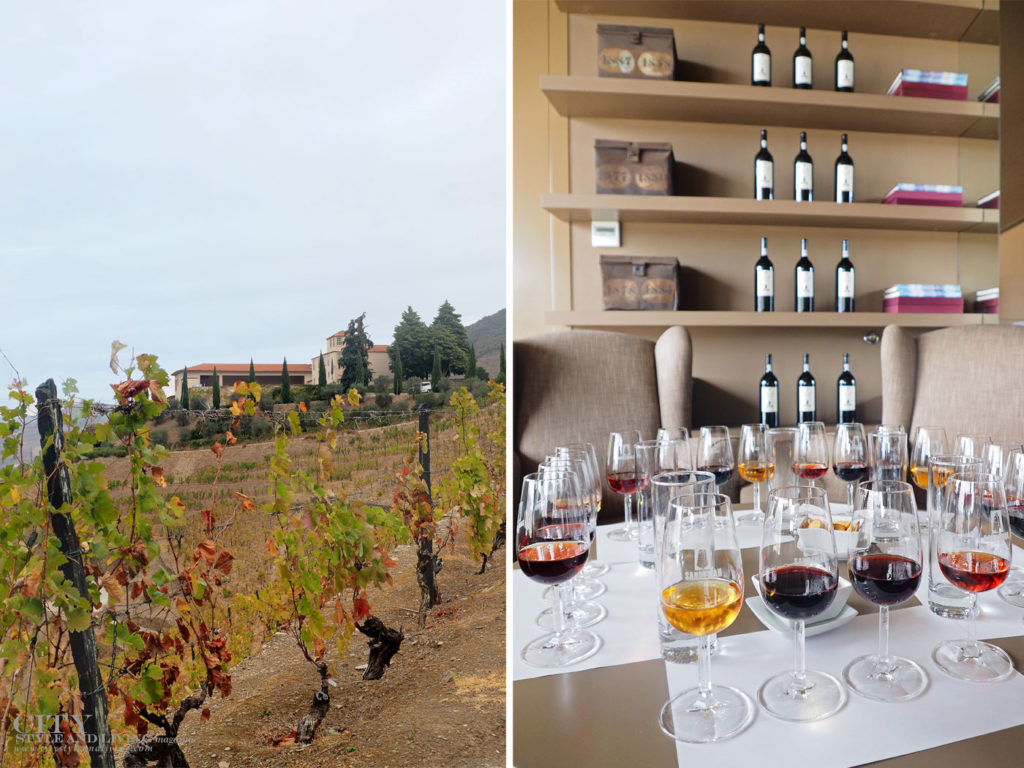 City Style and Living Magazine Travel Portugal Sandeman tasting room and port tasting