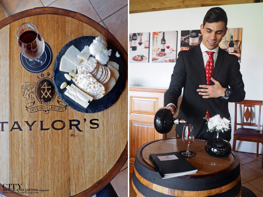 City Style and Living Magazine Travel Portugal Taylor Fladgate cheese tasting and port