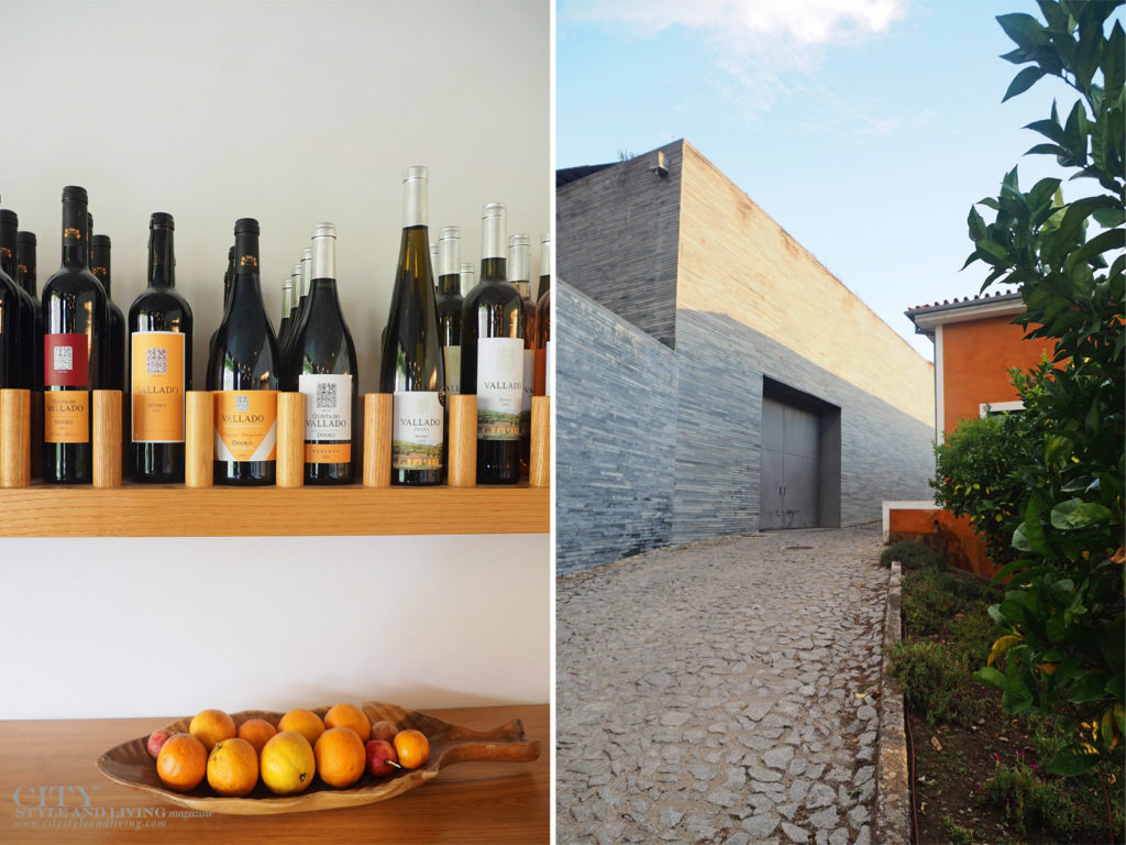 City Style and Living Magazine Travel Portugal Luxury Hotels Quinta Do Vallado selection of wine and cellars