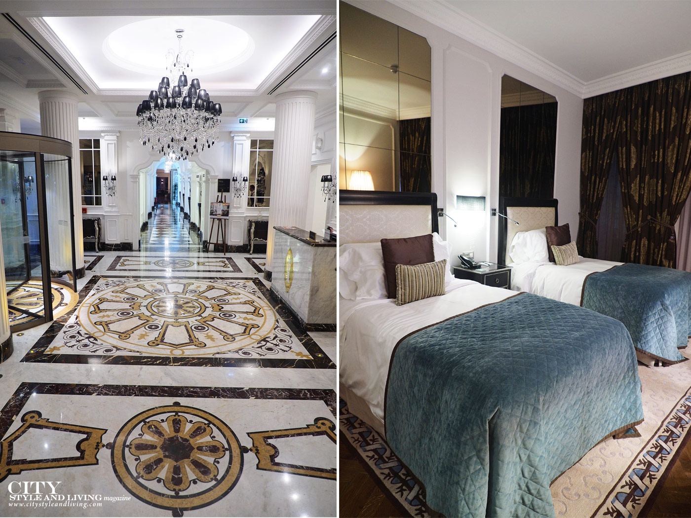 City Style and Living Magazine Travel Portugal Intercontinental Porto Luxury Hotels Room and lobby