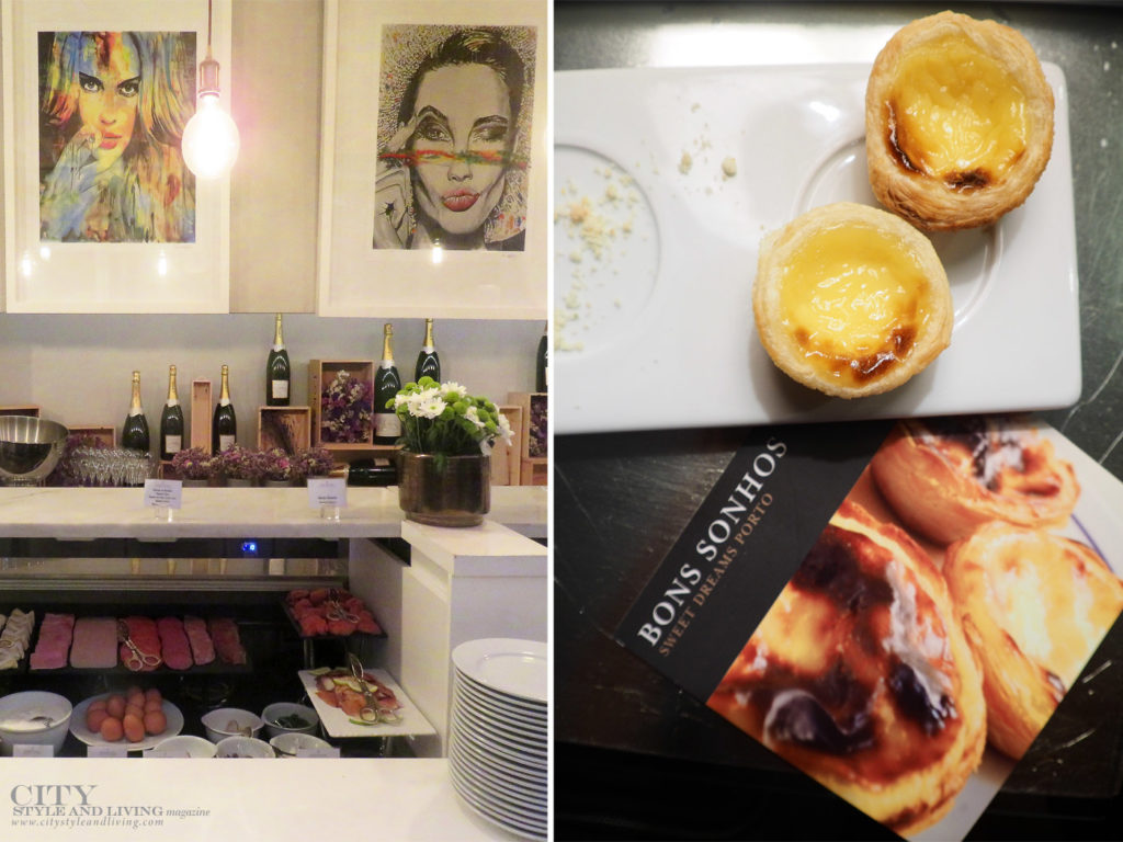 City Style and Living Magazine Travel Portugal Intercontinental Porto Luxury Hotel breakfast and pasteis de nata at turndown