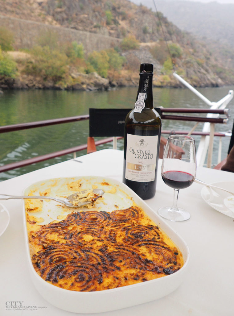 City Style and Living Magazine Travel Portugal Pipa Douro Porto Vintage Wine Travel Creme caramel and quinta do Crasto LBV