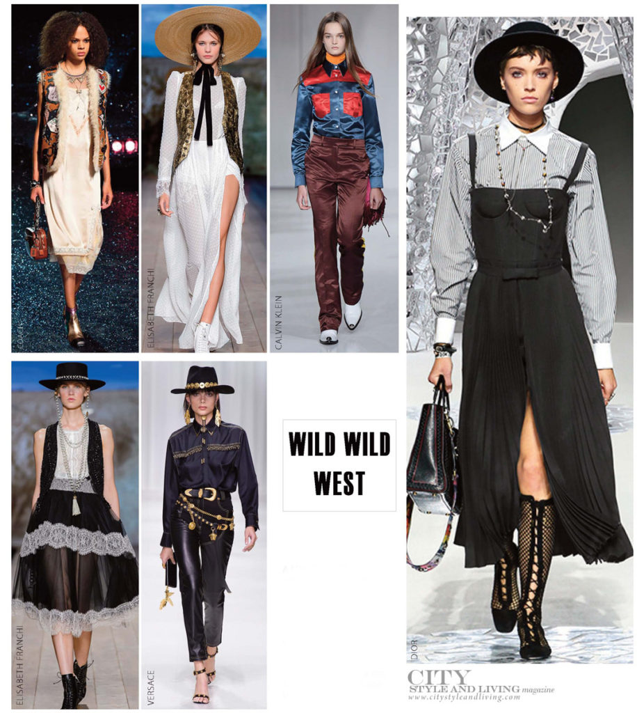 City Style and Living Magazine Fashion Trends Spring 2018 Wild West Cowboy