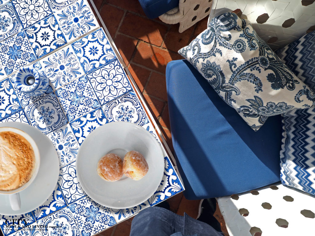 City Style and Living Magazine Travel Portugal Hotels Vila Vita Terrace Doughnuts