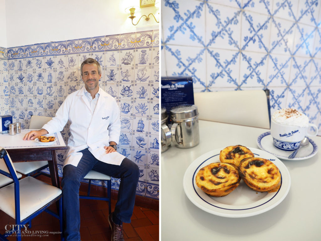 City Style and Living Magazine Travel Lisbon Portugal Pasteis de belem pastries and miguel clarinha