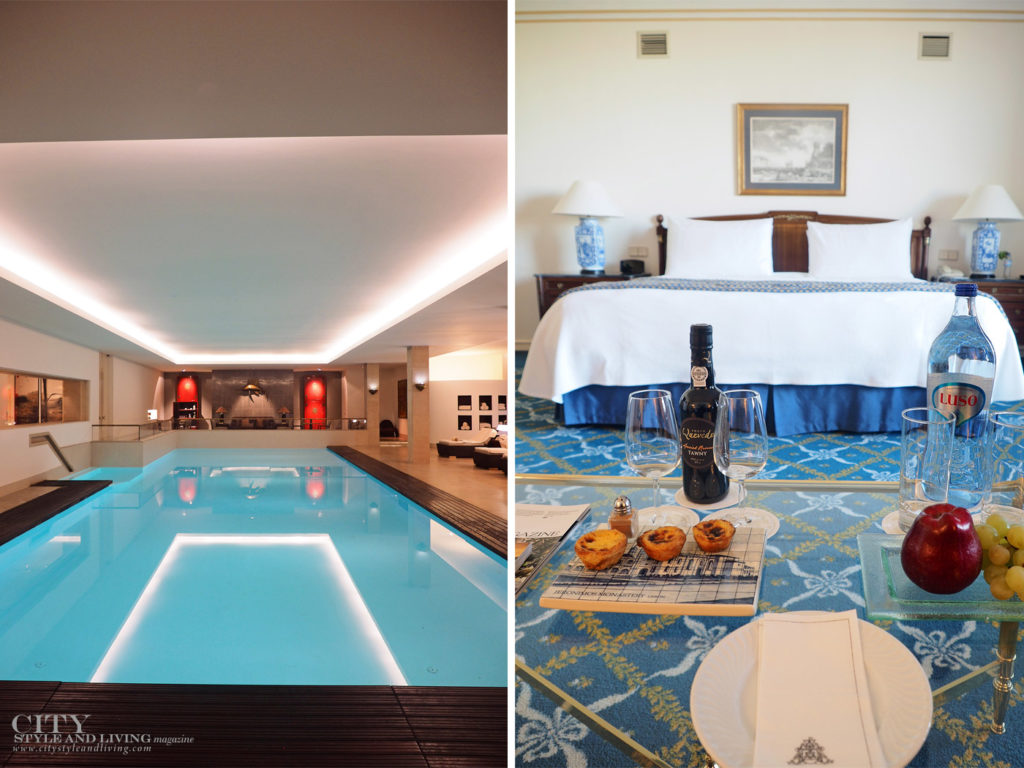 City Style and Living Magazine Travel Portugal Four Seasons Hotel Ritz Lisbon Pool and inside room