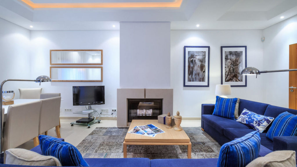 City Style and Living Magazine Travel Portugal alrgarve luxury hotel the crest, loule villa living room