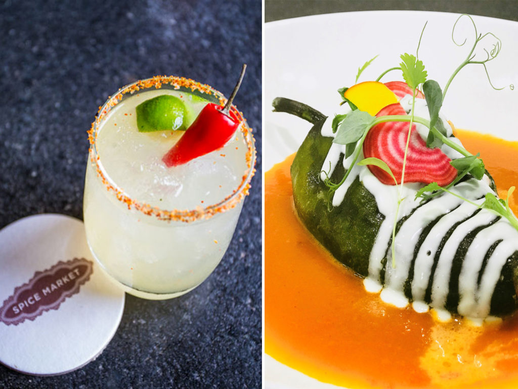 City Style and Living Magazine Travel Hotels W Punta de Mita Mexico spice market cocktail and venazu stuffed chili pepper