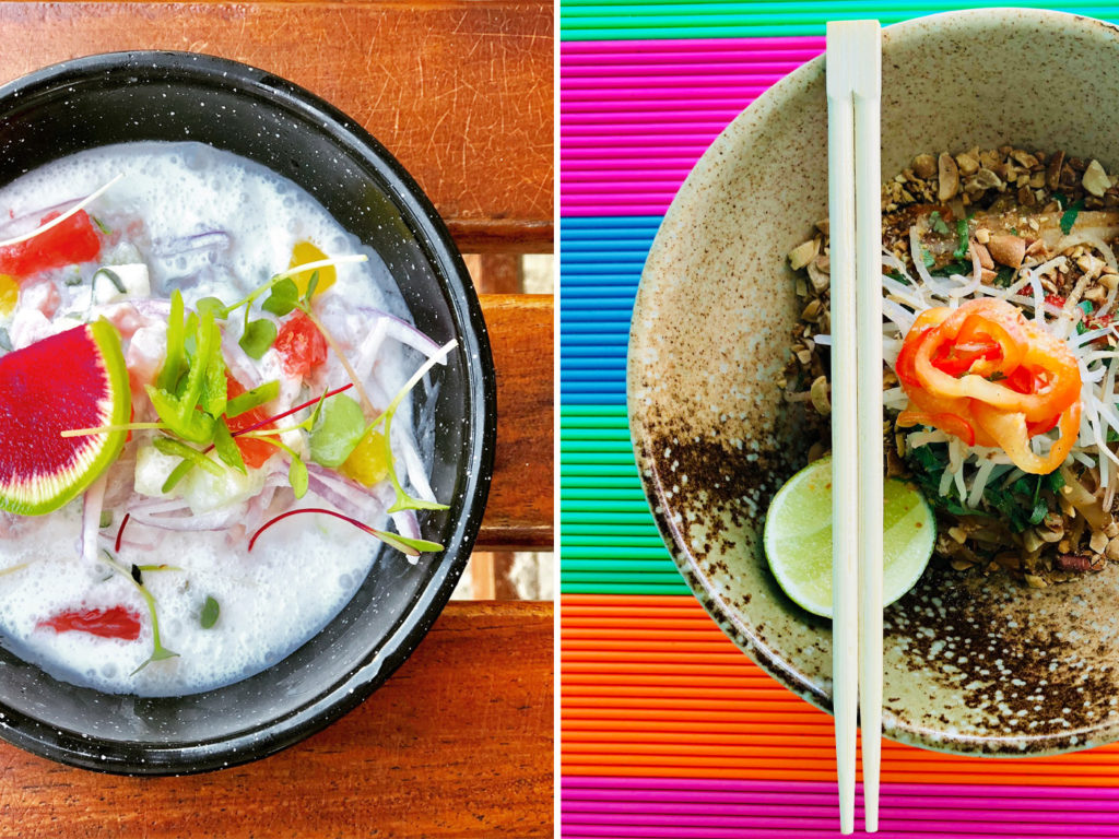 City Style and Living Magazine Travel Hotels W Punta de Mita Mexico cevhice at Cheycheria and Spice market dish
