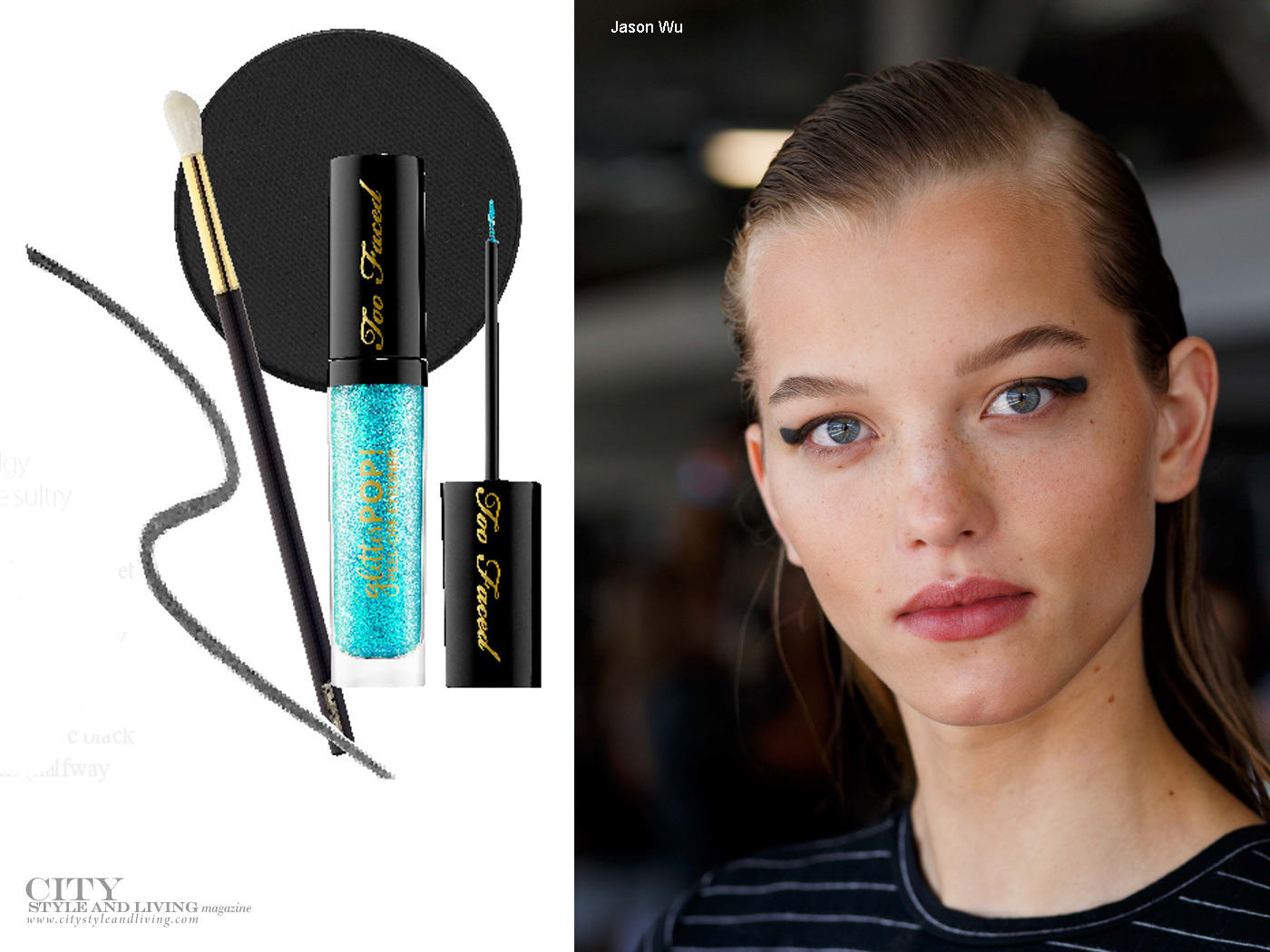 City Style and Living Magazine Beauty Summer 2018 eyeliner trend