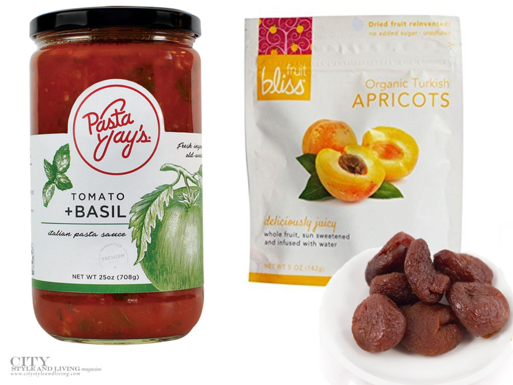 City Style and Living Magazine Food Products we love Summer 2018 snacks Pasta yay's Pasta Sauce and fruit bliss apricot