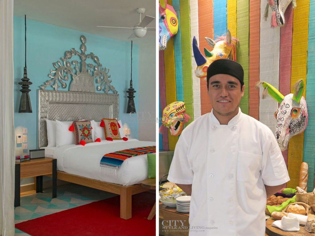 City Style and Living Magazine Travel Hotels W Punta de Mita Mexico Room and pastry chef at Venazu