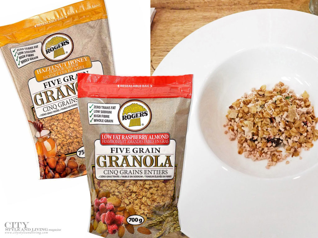 City Style and Living Magazine Food Products we love Summer 2018 snacks Rogers Granola