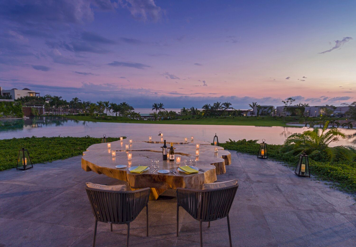 City Style and Living Magazine Travel Hotels W Punta de Mita Mexico sunset dinner at Mesa1