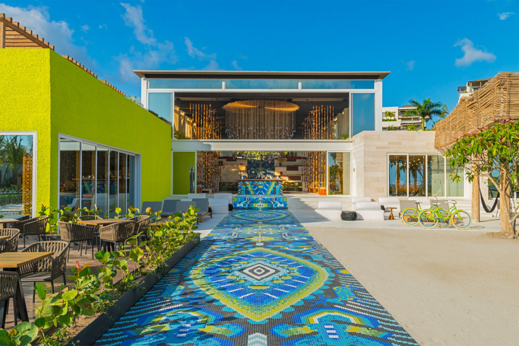 City Style and Living Magazine Travel Hotels W Punta de Mita Mexico Sunway mosaic