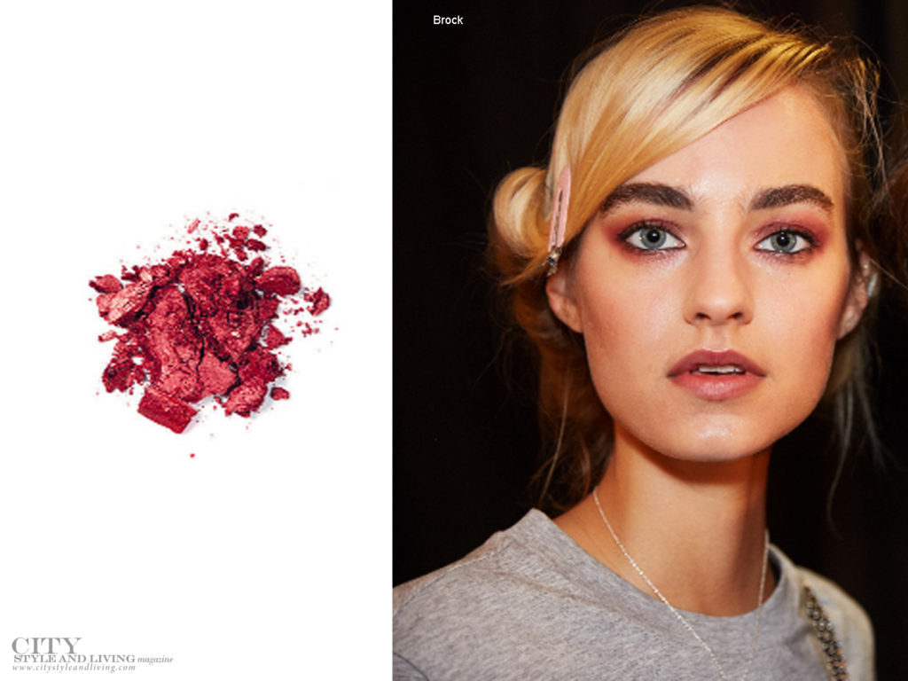 City Style and Living Magazine Beauty Summer 2018 Garnet eyes