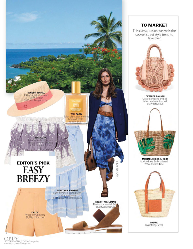 City Style and Living Magazine Fashion Easy Summer Fashion Easy Breezy