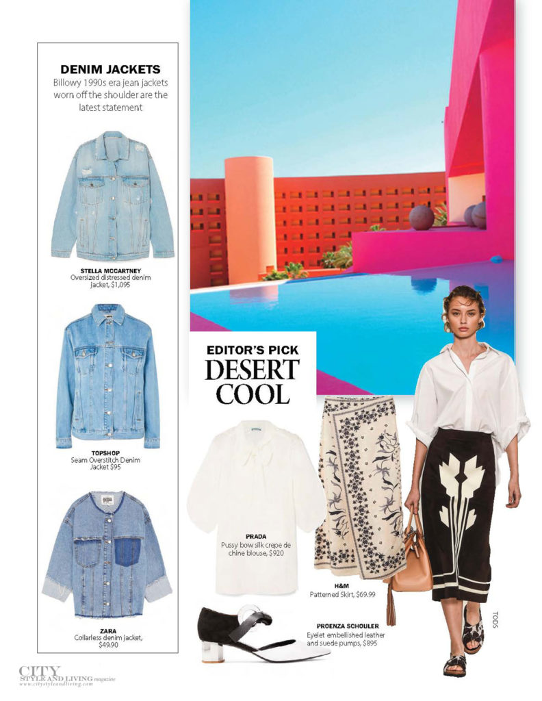 City Style and Living Magazine Fashion Easy Summer Fashion Desert Cool